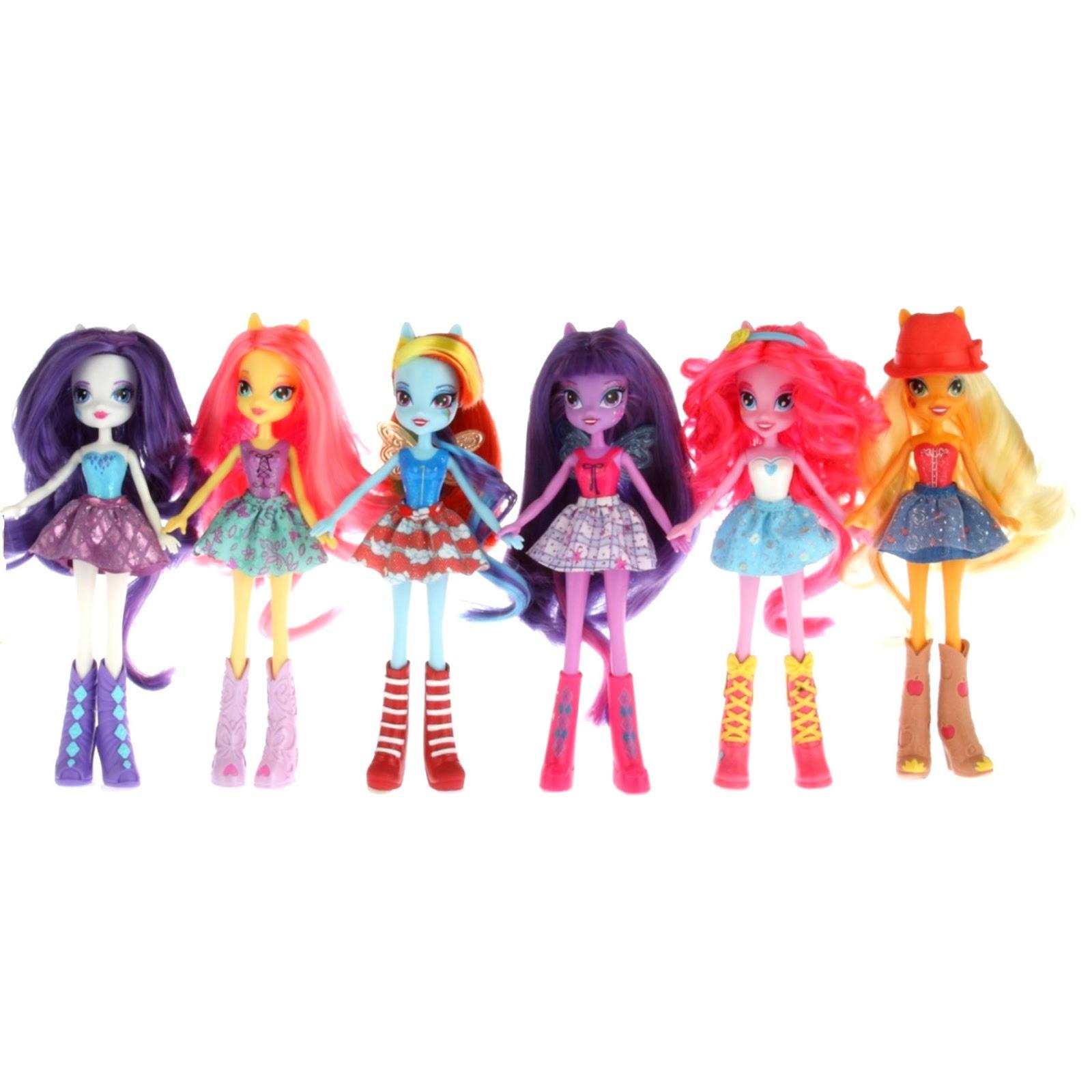 My Little Pony's Equestria Girls Finalized Dolls Revealed ...