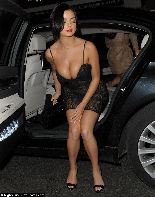 Demi Rose leaves nothing to the imagination in VERY