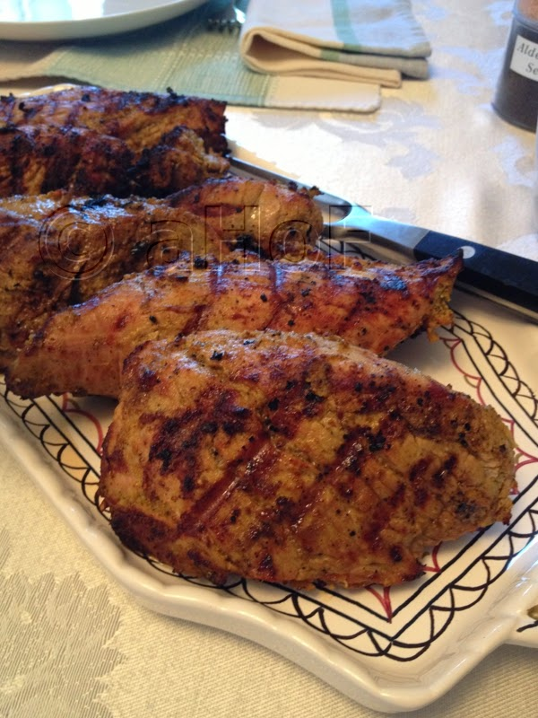 Grilled Pork with Indian Spices