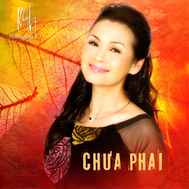 Khánh Ly CD - Chưa Phai (NRG) + bìa scan mới