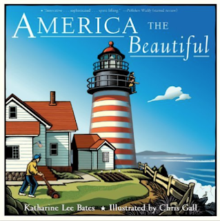 America the Beautiful: A picture book for the song. Blog post includes other activities for your music lessons!