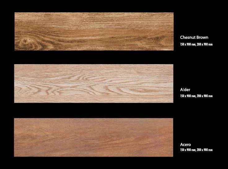 Homogenous Tile Venus Forest Collection Chesnut Brown, Alder, Acero