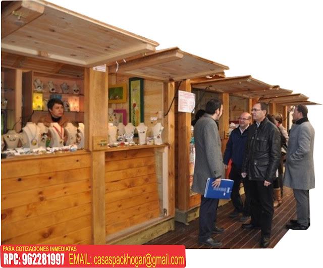 Casetas prefabricadas para ferias artesanales packhogar - Feria de casas prefabricadas ...