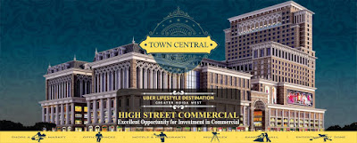 PKS Town Central a commercial hub in Noida Extension