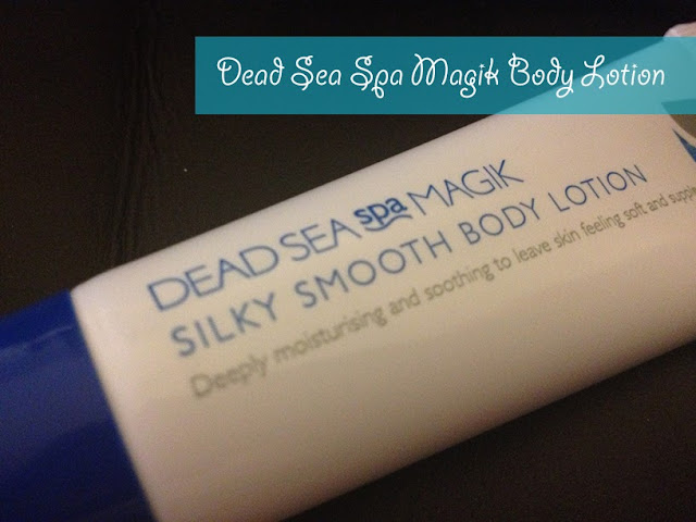 Dead Sea Spa Magik Silky Smooth Body Lotion