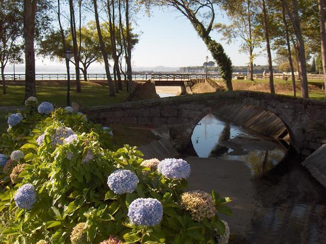Puente de la ciscada en Ares