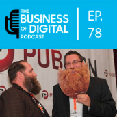 The Business of Digital Podcast Logo