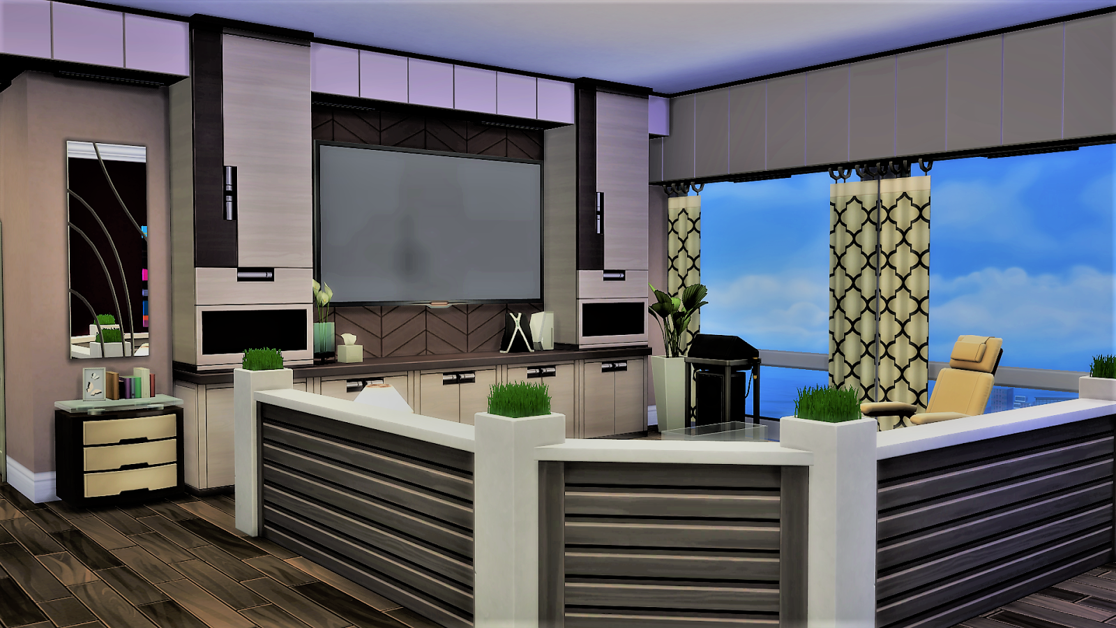 Sim house design workshop sims 4 traditional modern for Apartment design simulator