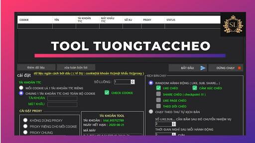 Share tool TuongTacCheo.Com cày xu tăng tương tác