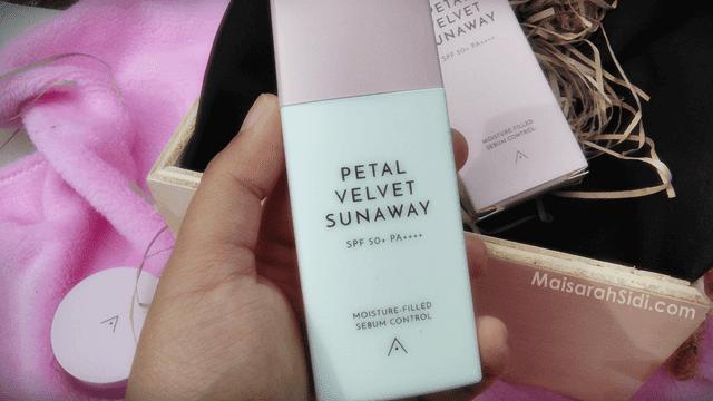 Althea Petal Velvet Sunaway, sunscreen