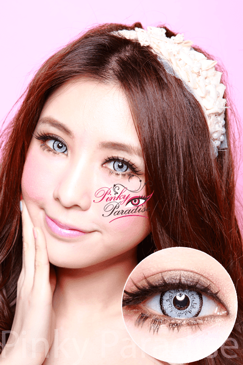 Eos Dolly Eye Grey Circle Lenses Colored Contacts