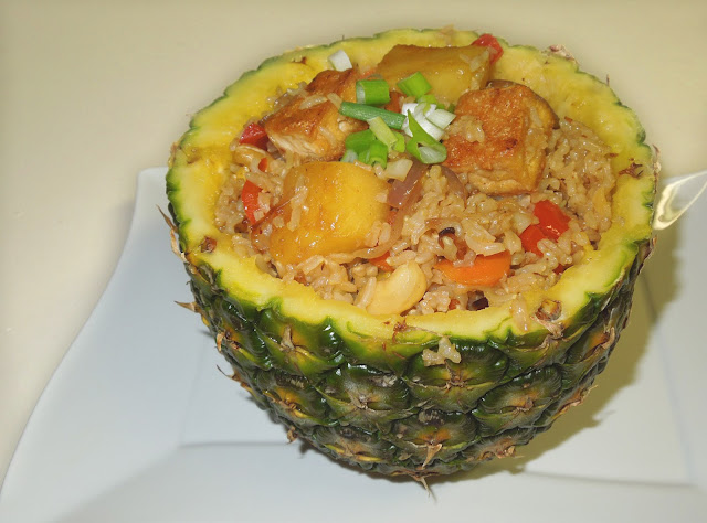 Pineapple Fried Rice by veggierecipehouse