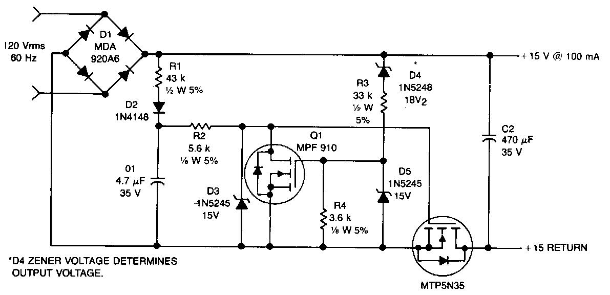 Offline Converter Circuit Diagram Electronic Circuit