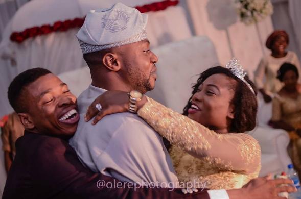 odunlade adekola woli agba wedding