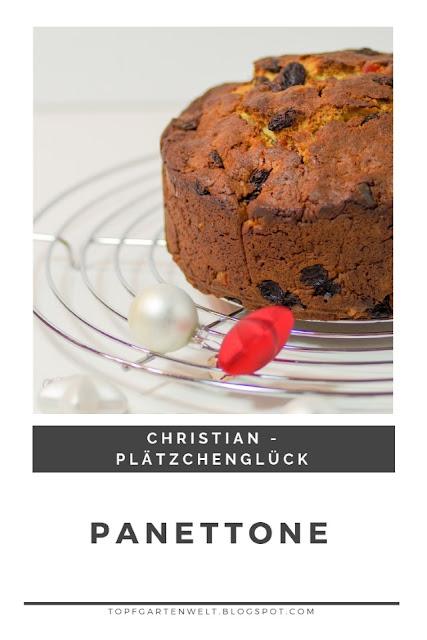 {Buchwerbung} Rezept für einen einfachen selbst gemachten Panettone. Ein Klassiker zu Weihnachten. #panettone #weihnachten #topfgartenwelt