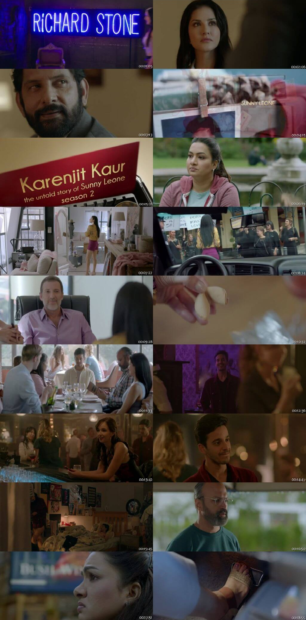Screenshots Of Hindi Show Karenjit Kaur Season 02 2018 Complete - All Episodes 300MB 720P HD
