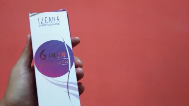 Kotak bungkusan losyen Izeara Extravaganza