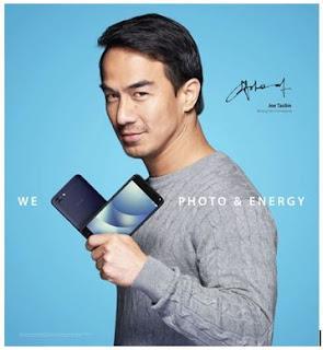 Aktor Joe Taslim Kembali Menjadi Brand Ambassador Zenfone 4 Max Pro