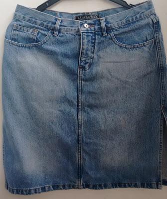 saia jeans Sawary tamanho 42