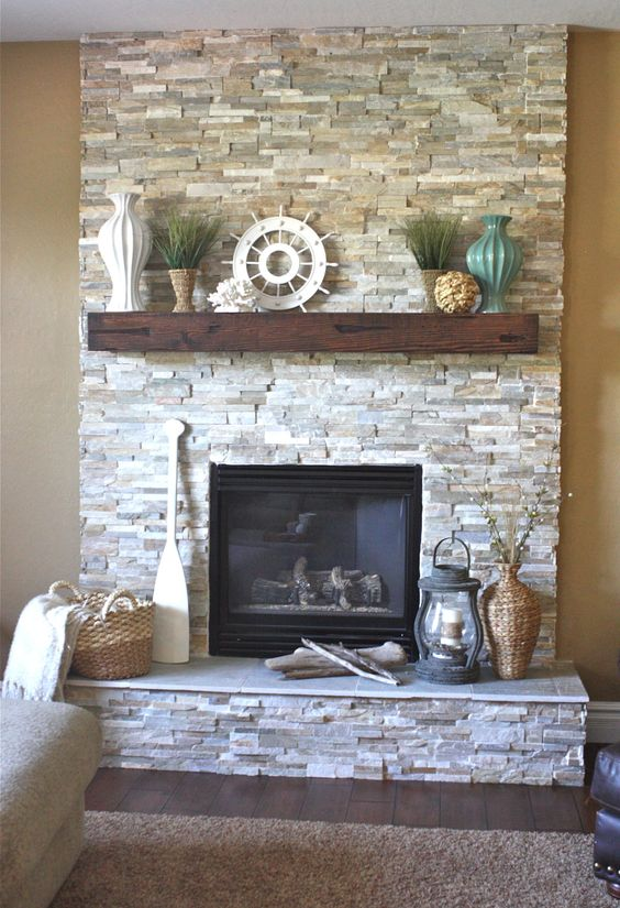 10 Ideas For Decorating Your Fireplace Mantle Modern