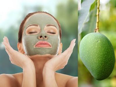 Cách đắp mặt nạ trị nám da từ trái xoài xanh hiệu quả an toàn