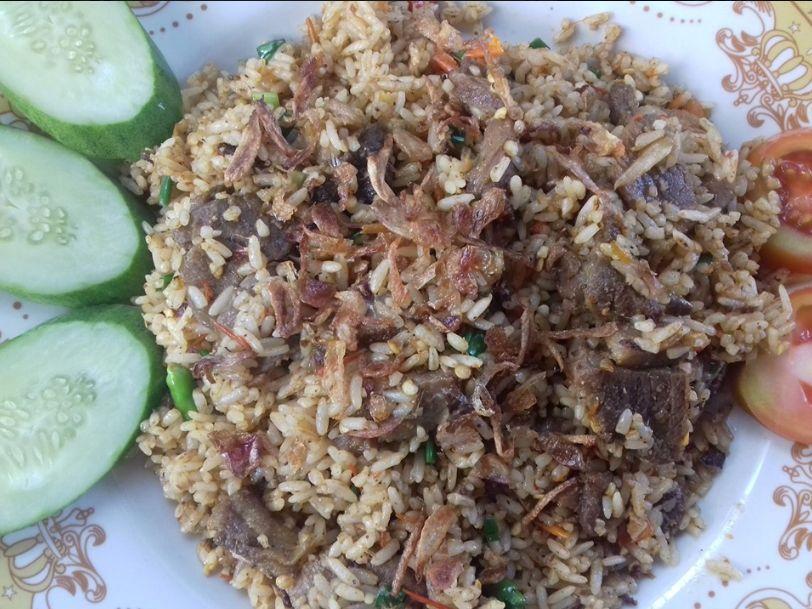 Coba Geh Menu Kuliner dengan rasa rempah nusantara nasi goreng kambing ala mas djenggot