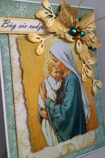 Tradycyjne kartki na Boże Narodzenie