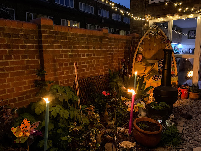 Small garden ideas for evening living, the garden at night, mandy charlton, photographer, writer, blogger