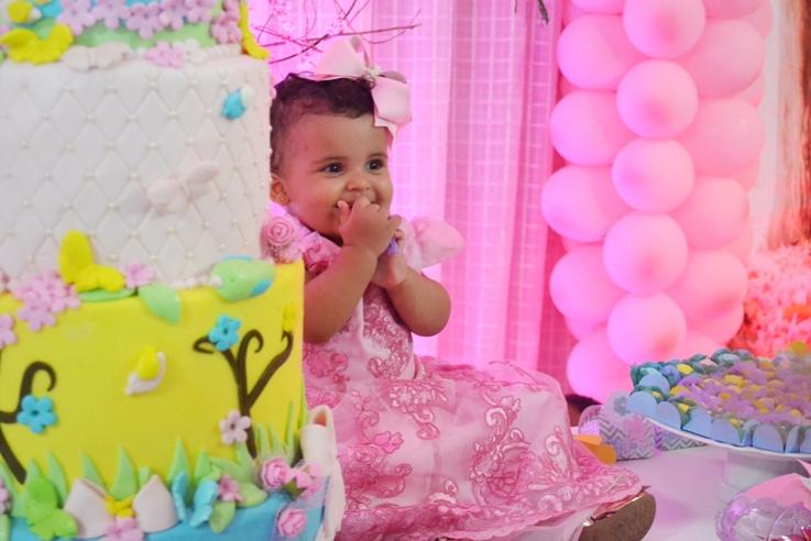 A belíssima festa de aniversário de um aninho de Marina