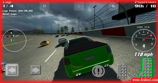 لعبة سباق سيارات شوارع للاندرويد : ThunderdomeGT