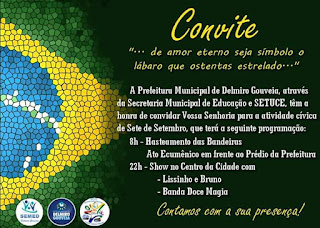 Confira a programação do 7 de Setembro em Delmiro Gouveia