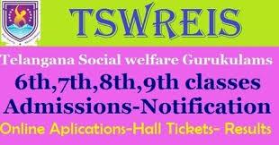 Tswreis 6th, 7th, 8th, 9th Entrance test (TS Social welfare admissions)/2019/05/tswreis-6th-7th-8th-9th-classes-entrance-test-2019-notification-tgswreis-admission-test-tswreis.in-tsswreisjc.cgg.gov.in.html