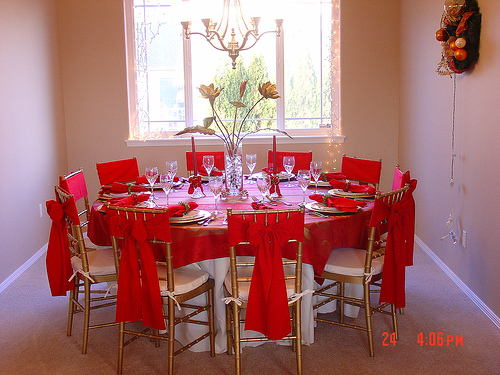 Catering design como poner bien la mesa for Decoraciones navidenas para hacer en casa