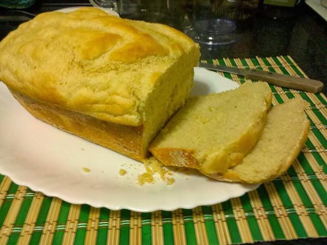 Receita de pão de forma fácil