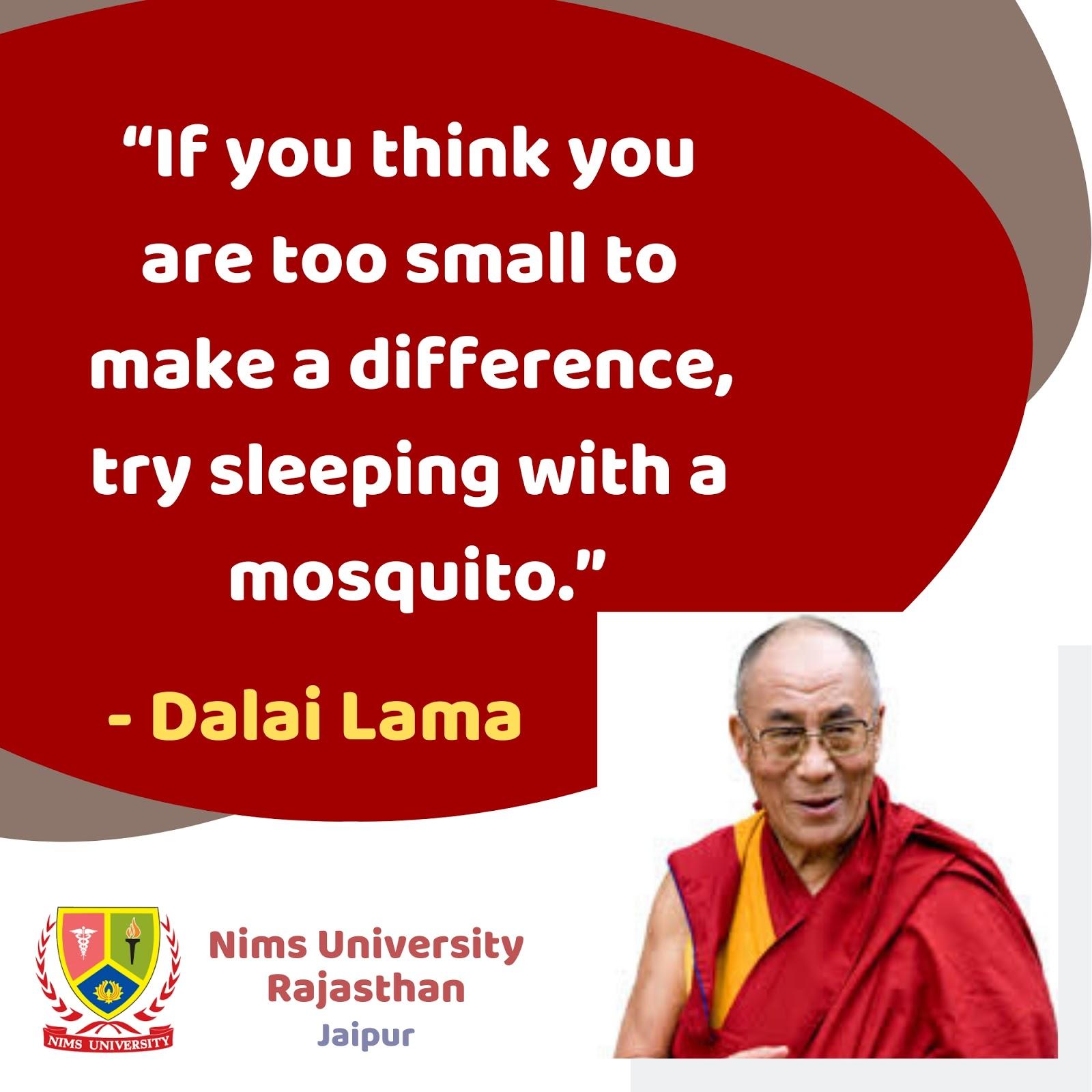 Dalai Lama Quotes If You Think