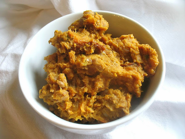 pumpkin refried beans