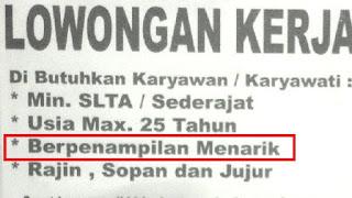 Lowongan Pekerjaan Yang di Anggap Wajar di Indonesia Tetapi ilegal di Amerika Serikat
