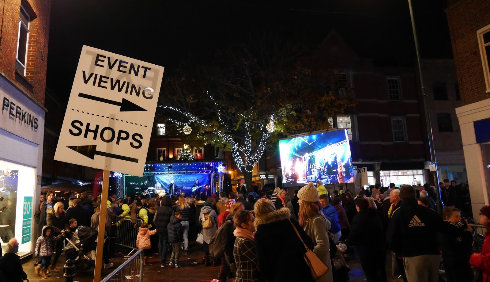 Canterbury Christmas Lights Switch On 2017