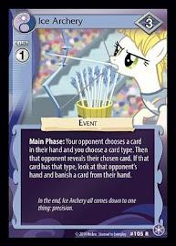 My Little Pony Ice Archery The Crystal Games CCG Card