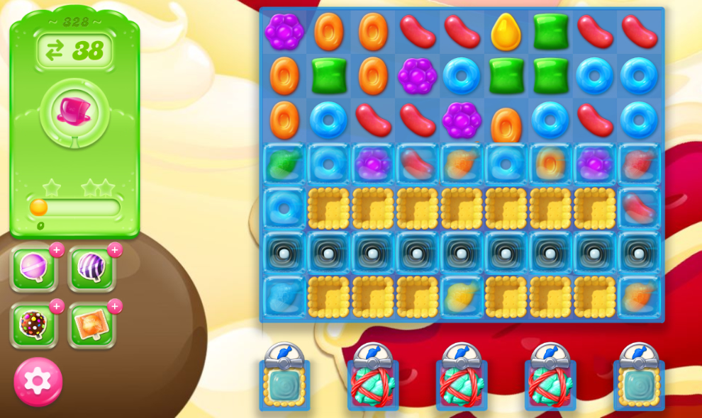 Candy Crush Jelly Saga 328
