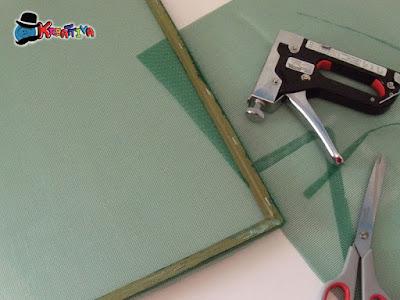 telaio necessario per riciclare la carta