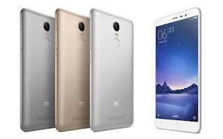 Spesifikasi dan Harga Xiaomi Redmi Note 3 Terbaru