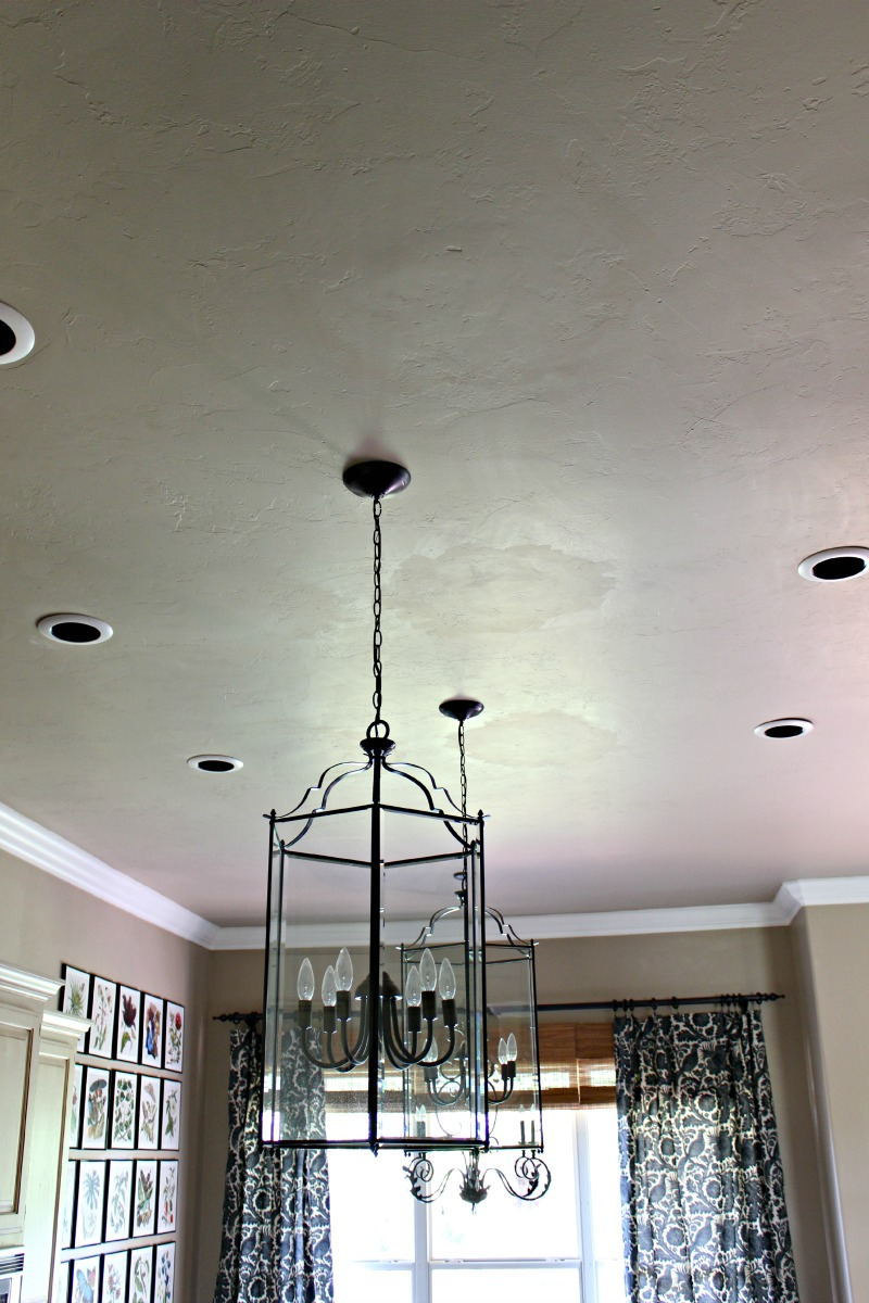 How We Made The Kitchen Lantern Pendants Work Dimples And Tangles Boxes Used For Ceiling Lights Arent Strong Enough To Hold A Once Repair Was Done Ray Able Easily Install First Hung Light Cage Up Without Glass Just Make Sure