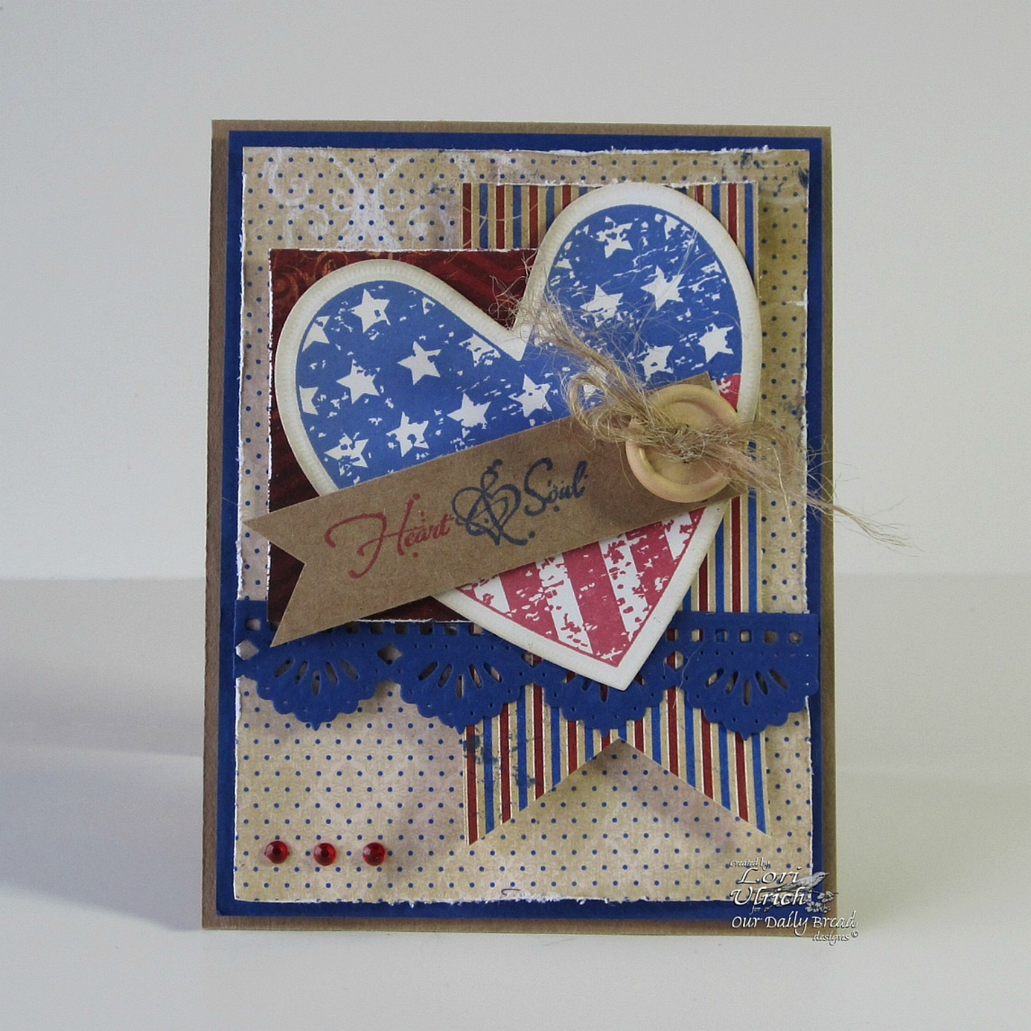 Stamps - Our Daily Bread Designs Heart and Soul, ODBD Custom Ornate Hearts Die, ODBD Custom Beautiful Borders Dies