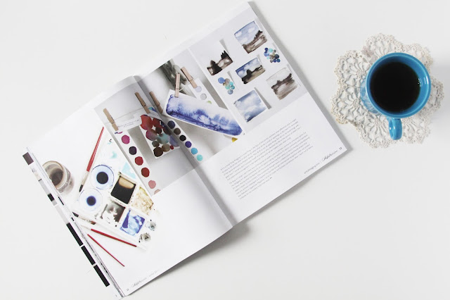 Artful Blogging Magazine, tea, studio, Anne Butera, My Giant Strawberry