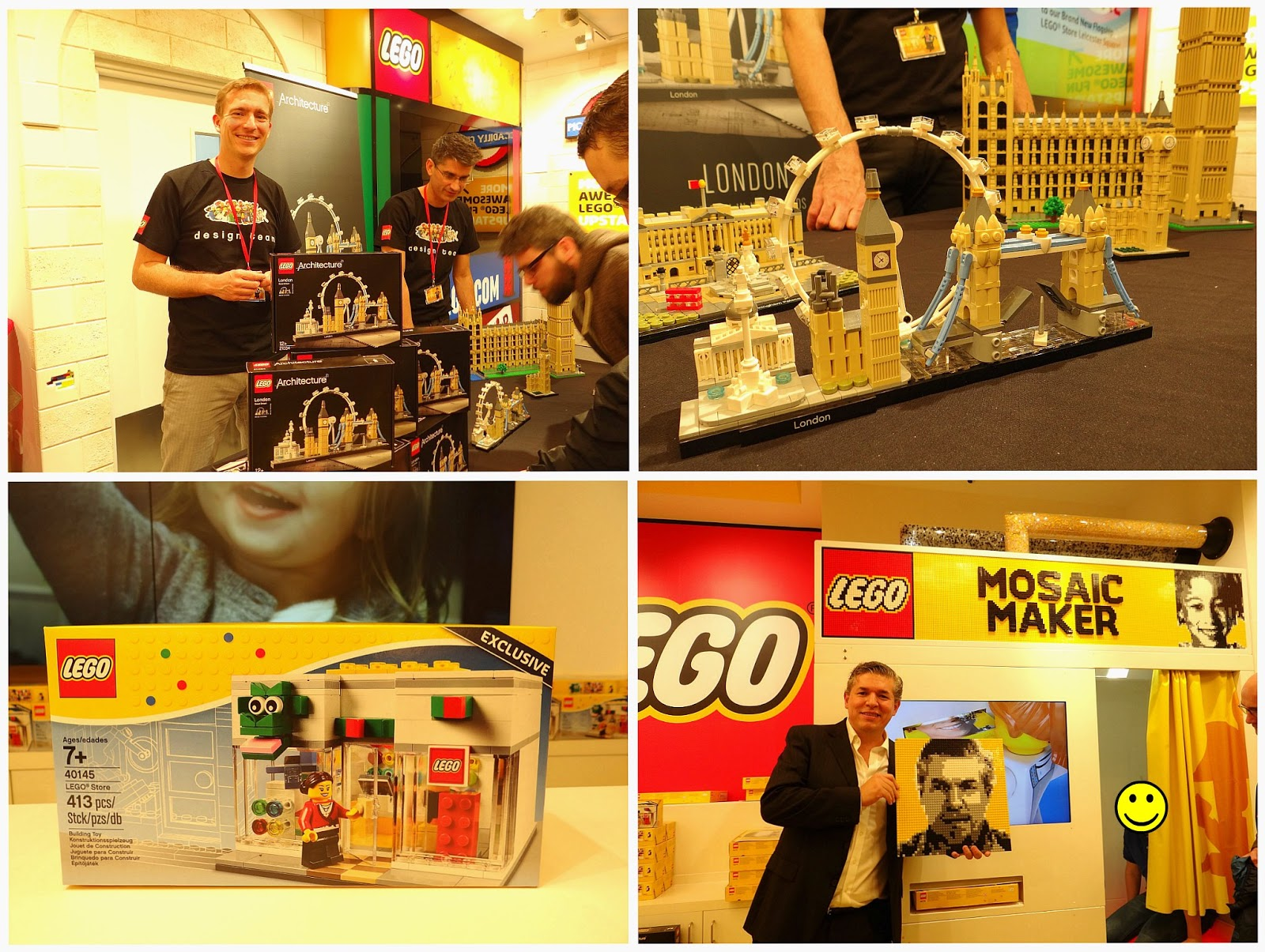 LEGO Store London, Largest LEGO Store in the world, London Landmark for Kids