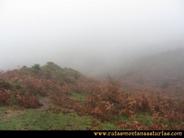 Ruta de las Xanas y Senda de Valdolayés: Camino de Peña Rey a la Senda
