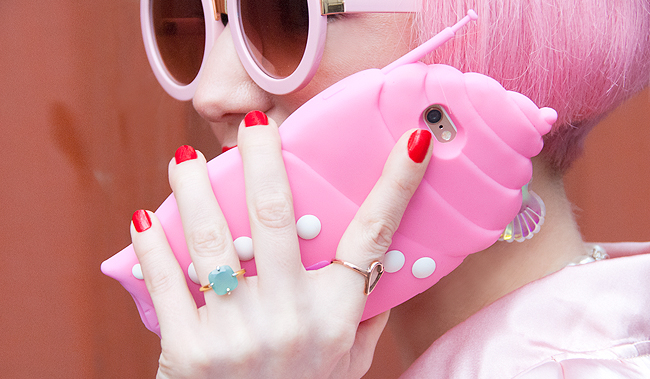 shell phone case, valfre, cute phone case