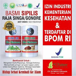 Agen Resmi Penjualan Obat Herbal Kencing Nanah De Nature