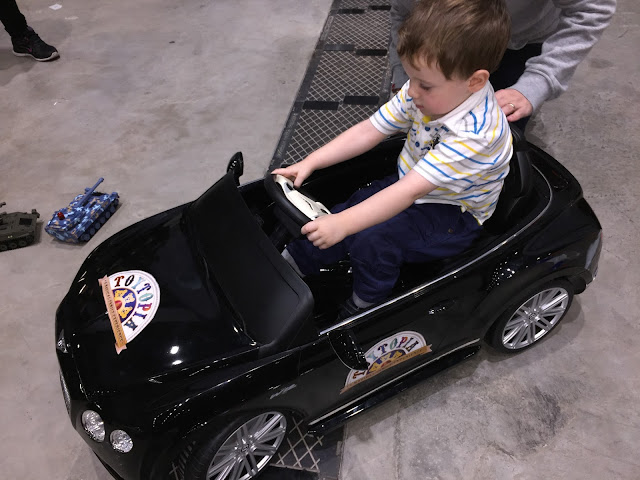 Child's Black Electric Car